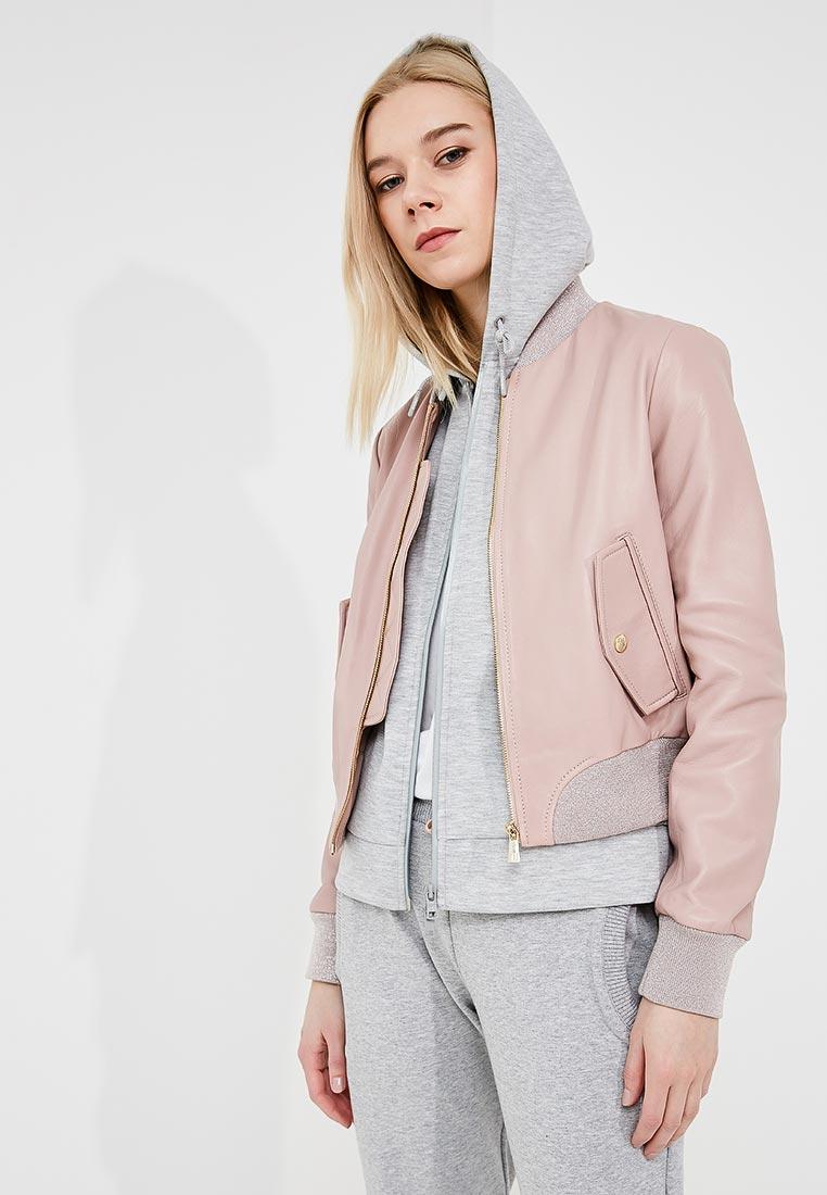 Кожаная куртка TRUSSARDI JEANS (Труссарди Джинс) 56S00173