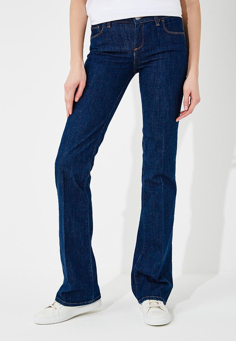 Широкие и расклешенные джинсы TRUSSARDI JEANS (Труссарди Джинс) 56J00012