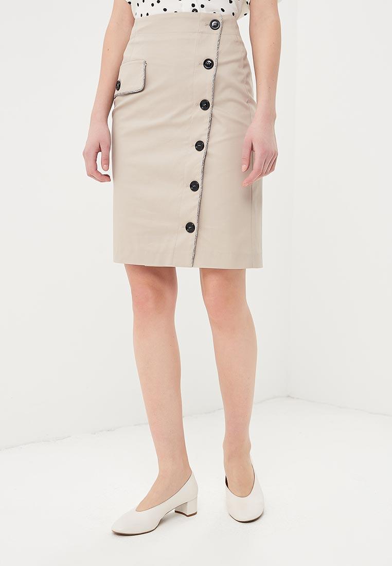 Прямая юбка TRUCCO TT01AI10000G2