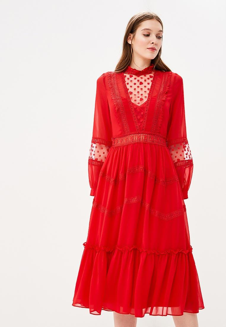 Платье-миди True Decadence HS0898