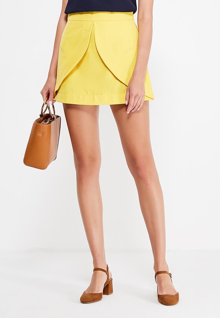 Широкая юбка Tsurpal 02010-32 жел