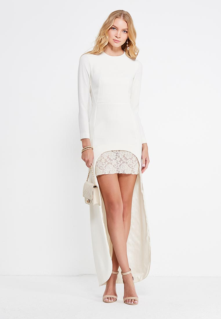 Платье-мини Tsurpal 07816-22 бел