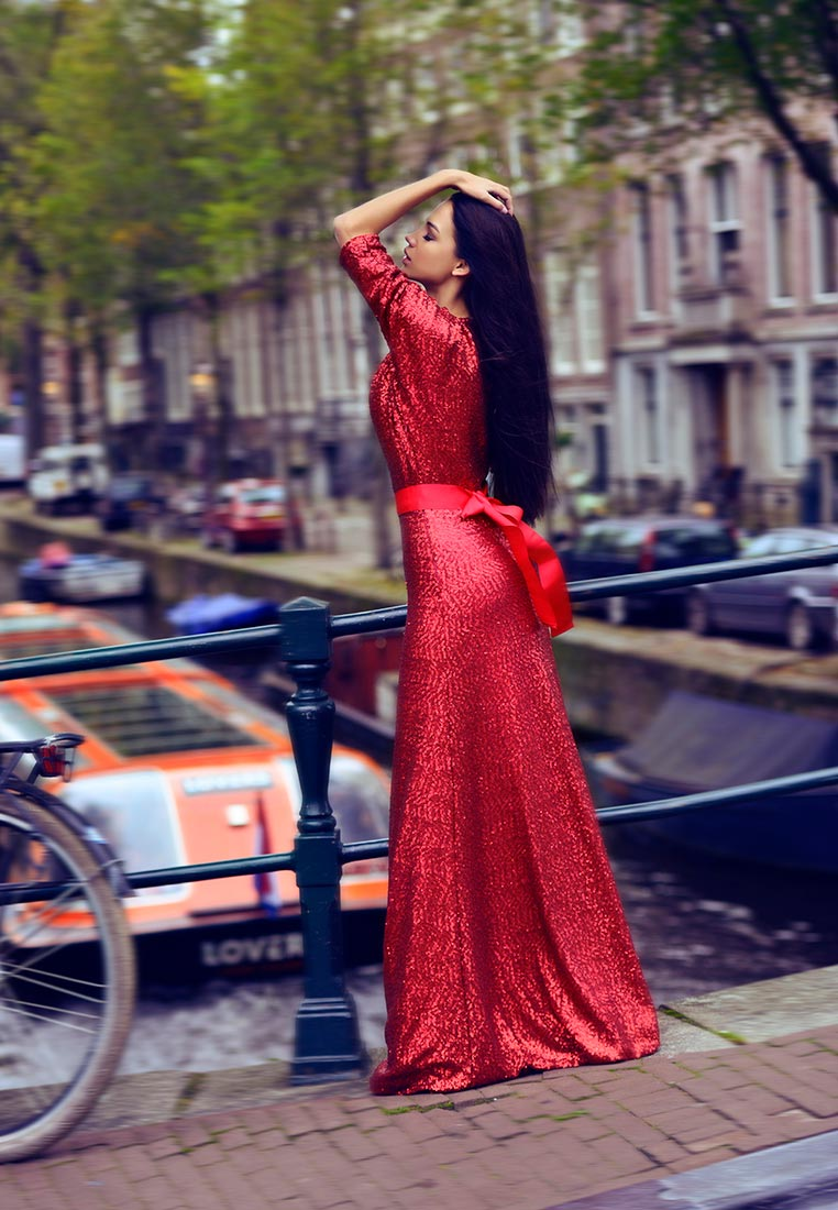 Платье-макси Tutto Bene 6551