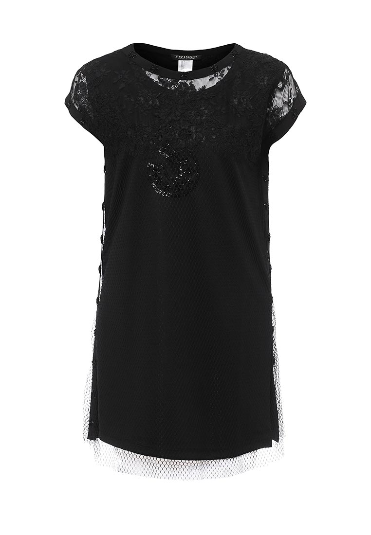Платье-мини Twin-Set Simona Barbieri PS726C