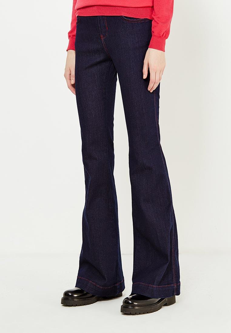 Широкие и расклешенные джинсы Twin-Set Simona Barbieri JA72Q2