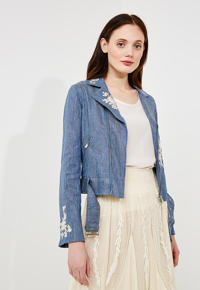 Джинсовая куртка Twin-Set Simona Barbieri TS82YN