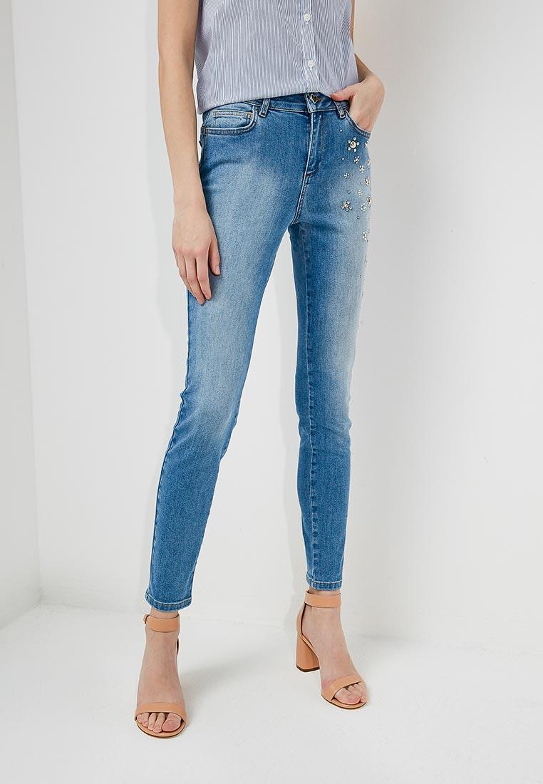 Зауженные джинсы Twin-Set Simona Barbieri JS82WE