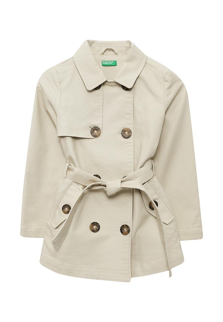 Пальто для девочек United Colors of Benetton (Юнайтед Колорс оф Бенеттон) 2XA353C10