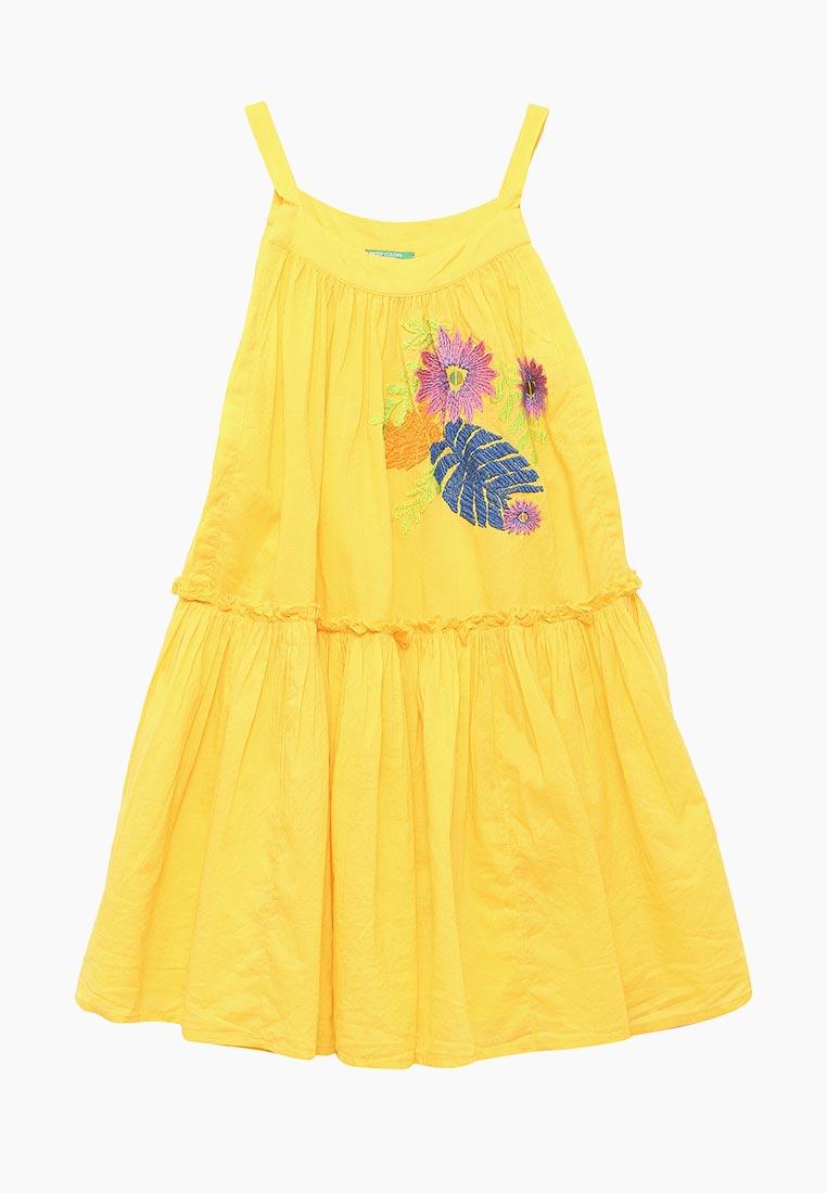 Повседневное платье United Colors of Benetton (Юнайтед Колорс оф Бенеттон) 4AW35VA60
