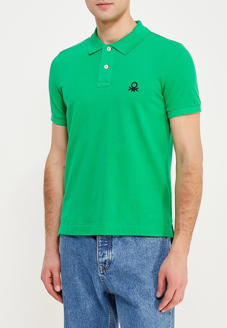 Мужские поло United Colors of Benetton (Юнайтед Колорс оф Бенеттон) 3089J3075