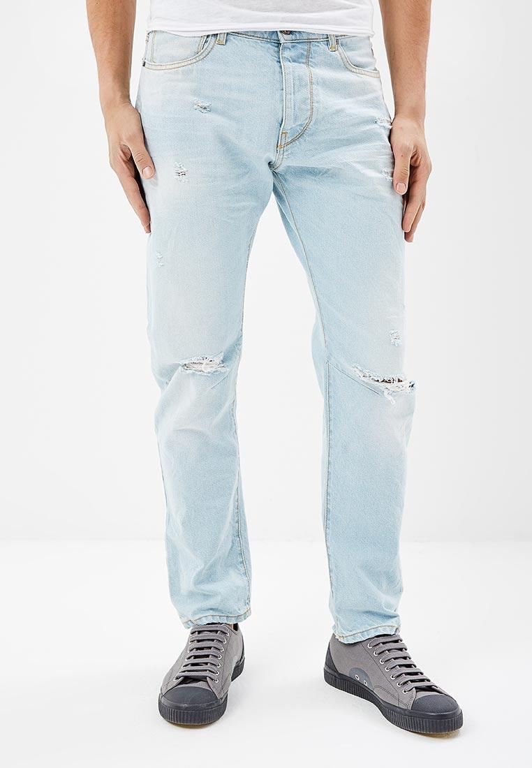 Мужские прямые джинсы United Colors of Benetton (Юнайтед Колорс оф Бенеттон) 4WK4579I8