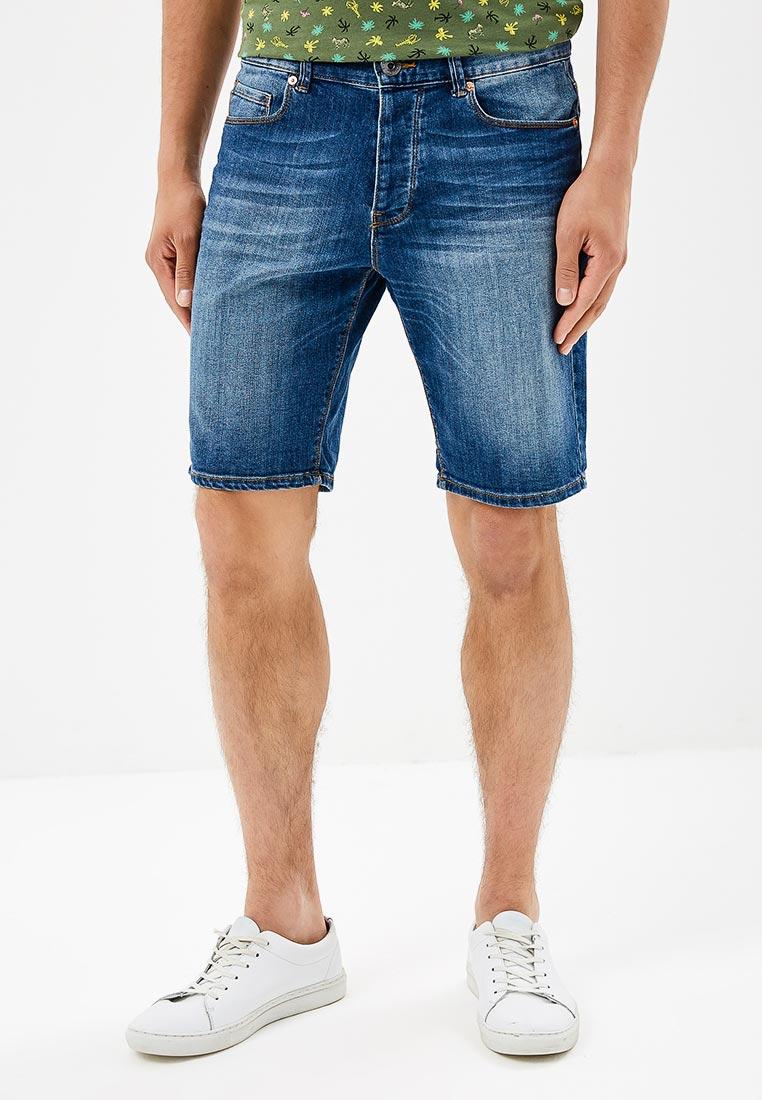 Мужские джинсовые шорты United Colors of Benetton (Юнайтед Колорс оф Бенеттон) 4AC659478