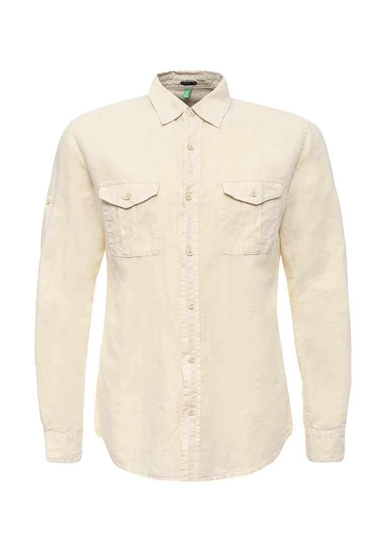 Рубашка с длинным рукавом United Colors of Benetton (Юнайтед Колорс оф Бенеттон) 5CF95QD38