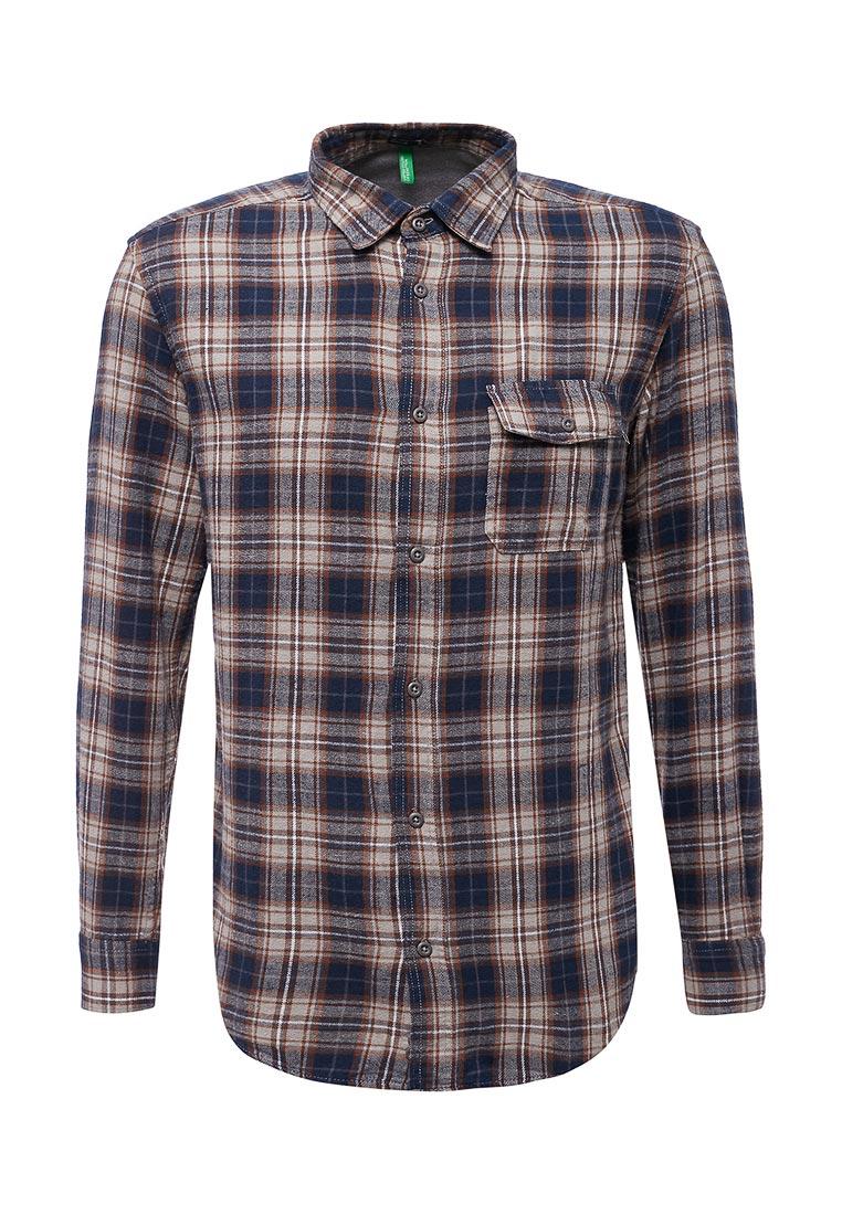 Рубашка с длинным рукавом United Colors of Benetton (Юнайтед Колорс оф Бенеттон) 5UR05QEL8