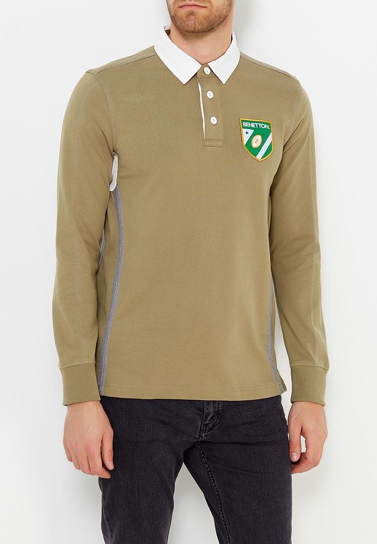 Мужские поло United Colors of Benetton (Юнайтед Колорс оф Бенеттон) 3WU6J3086