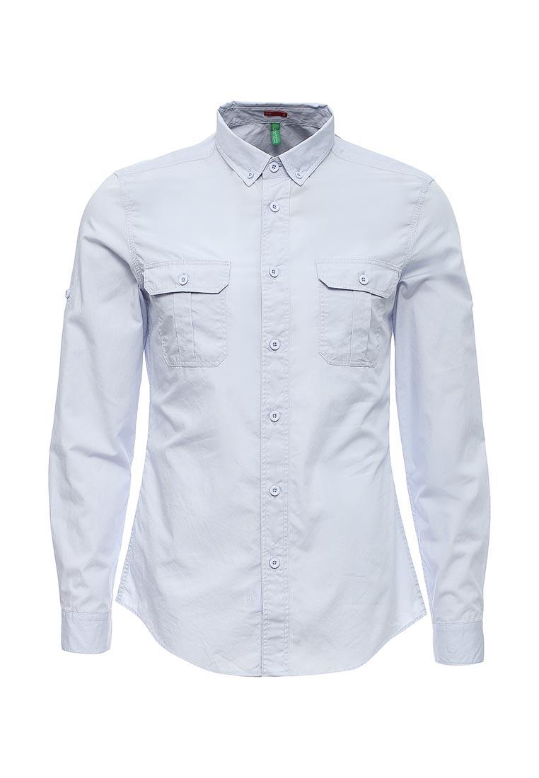 Рубашка с длинным рукавом United Colors of Benetton (Юнайтед Колорс оф Бенеттон) 5WR85QET8