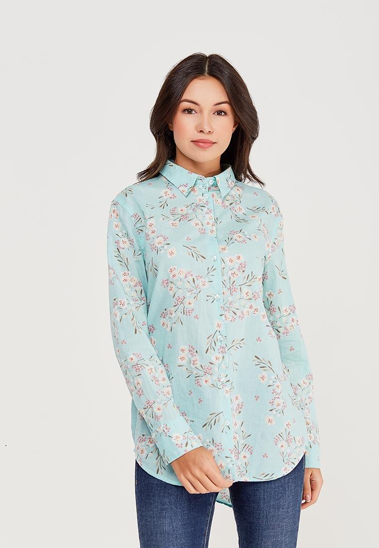 Женские рубашки с длинным рукавом United Colors of Benetton (Юнайтед Колорс оф Бенеттон) 5XB95Q8N5