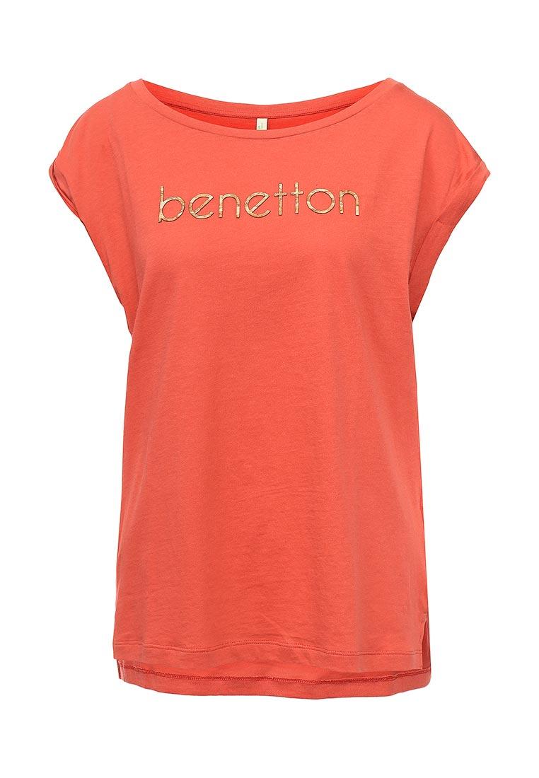 Футболка с коротким рукавом United Colors of Benetton (Юнайтед Колорс оф Бенеттон) 3L7NE1E01