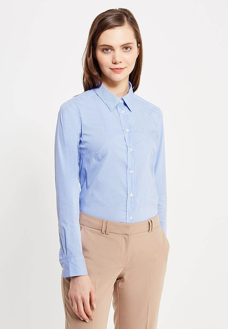 Женские рубашки с длинным рукавом United Colors of Benetton (Юнайтед Колорс оф Бенеттон) 5BRP5Q0V5