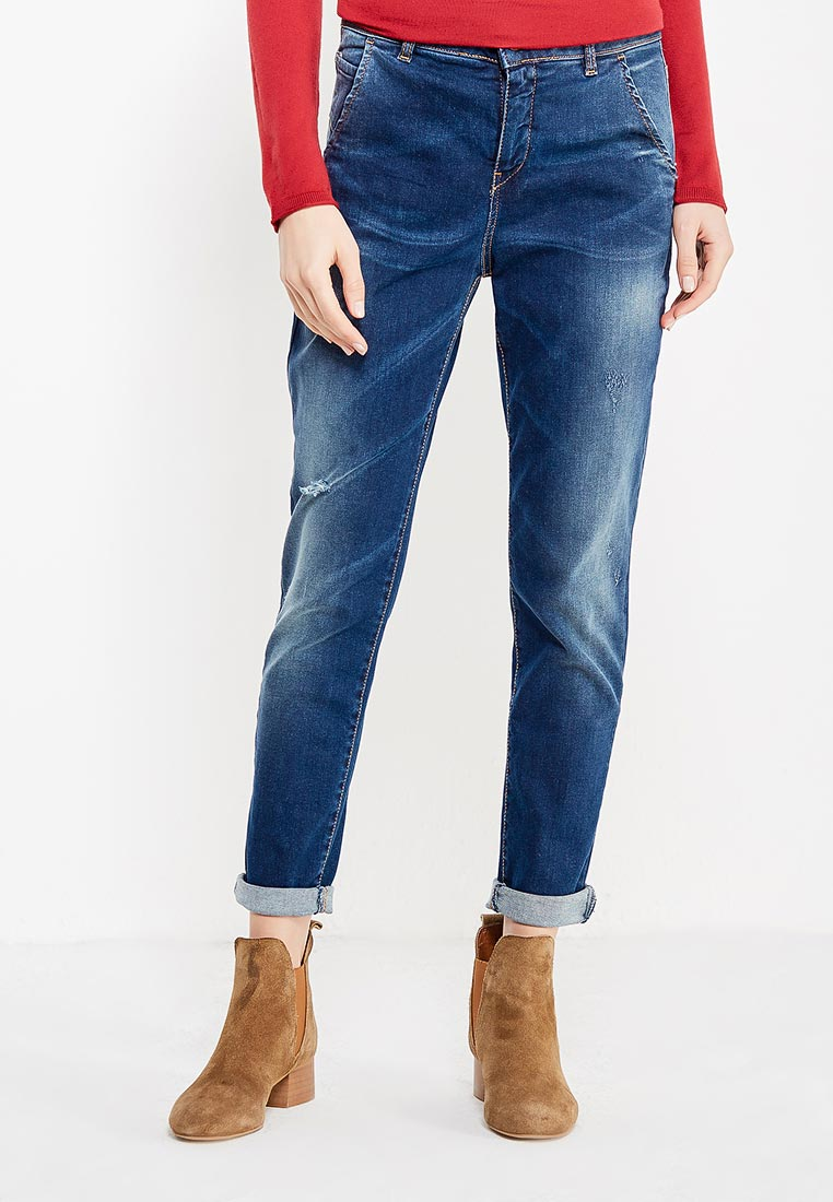 Зауженные джинсы United Colors of Benetton (Юнайтед Колорс оф Бенеттон) 4WI957353
