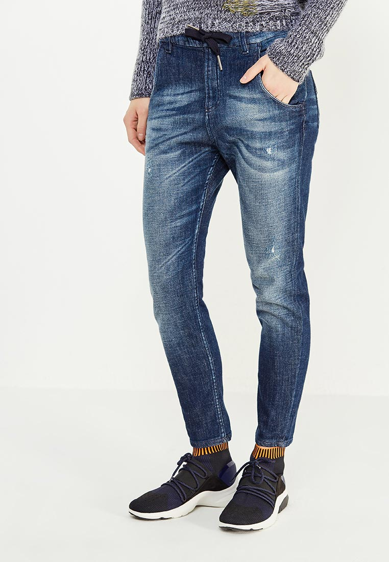 Зауженные джинсы United Colors of Benetton (Юнайтед Колорс оф Бенеттон) 4WK3556J4
