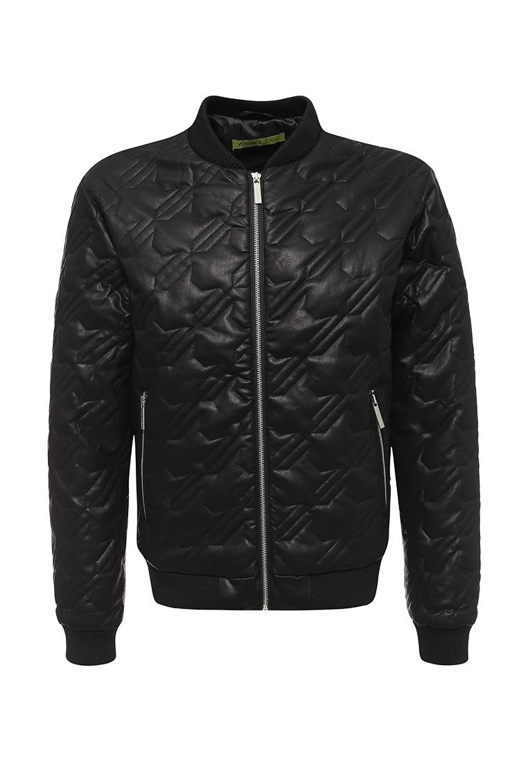 Кожаная куртка Versace Jeans C1GQA9P268536