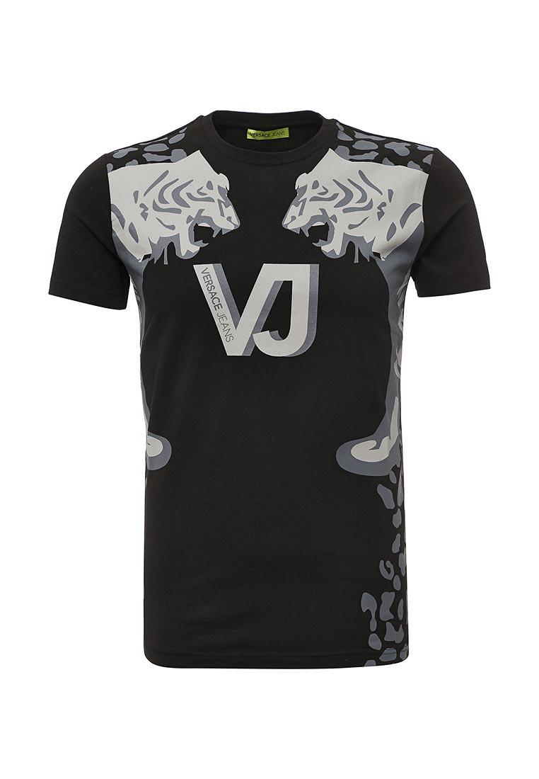 Мужская футболка Versace Jeans (Версаче Джинс) B3GQB74636641  изображение 1 0ca9003ca03