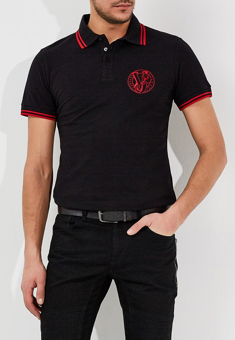 Мужские поло Versace Jeans eb3gra7p1E36571