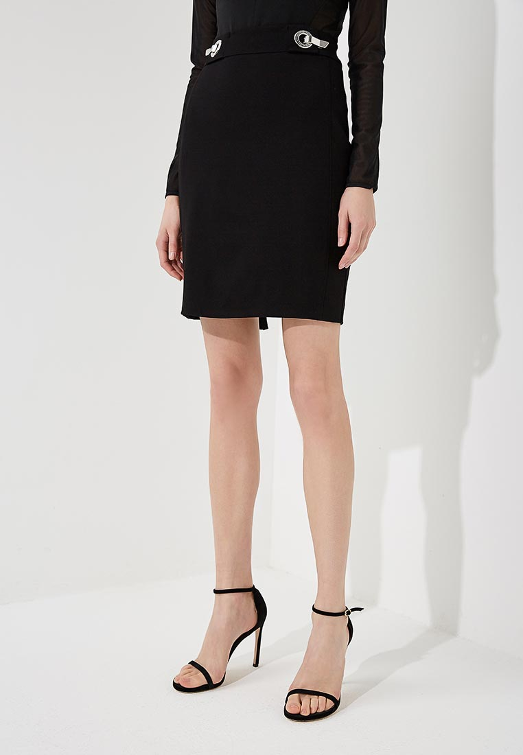 Прямая юбка Versace Jeans EA9HRB315E10593