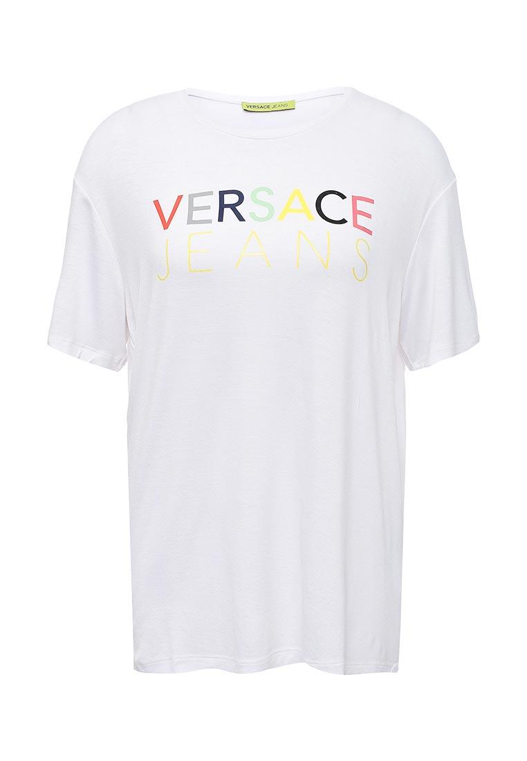 Футболка с коротким рукавом Versace Jeans B2HPB7B036209
