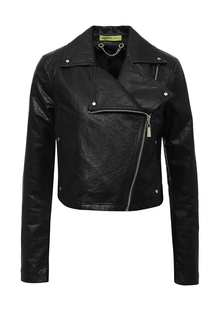 Кожаная куртка Versace Jeans C0HPA93268534