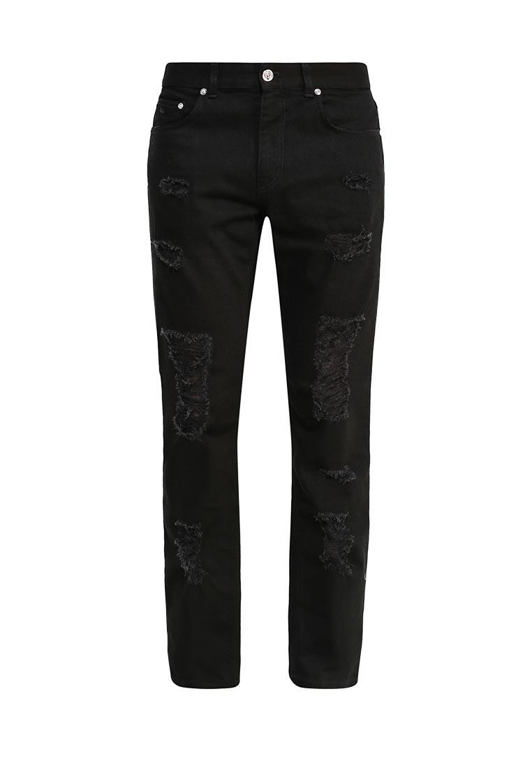 Зауженные джинсы Versus Versace bu40360