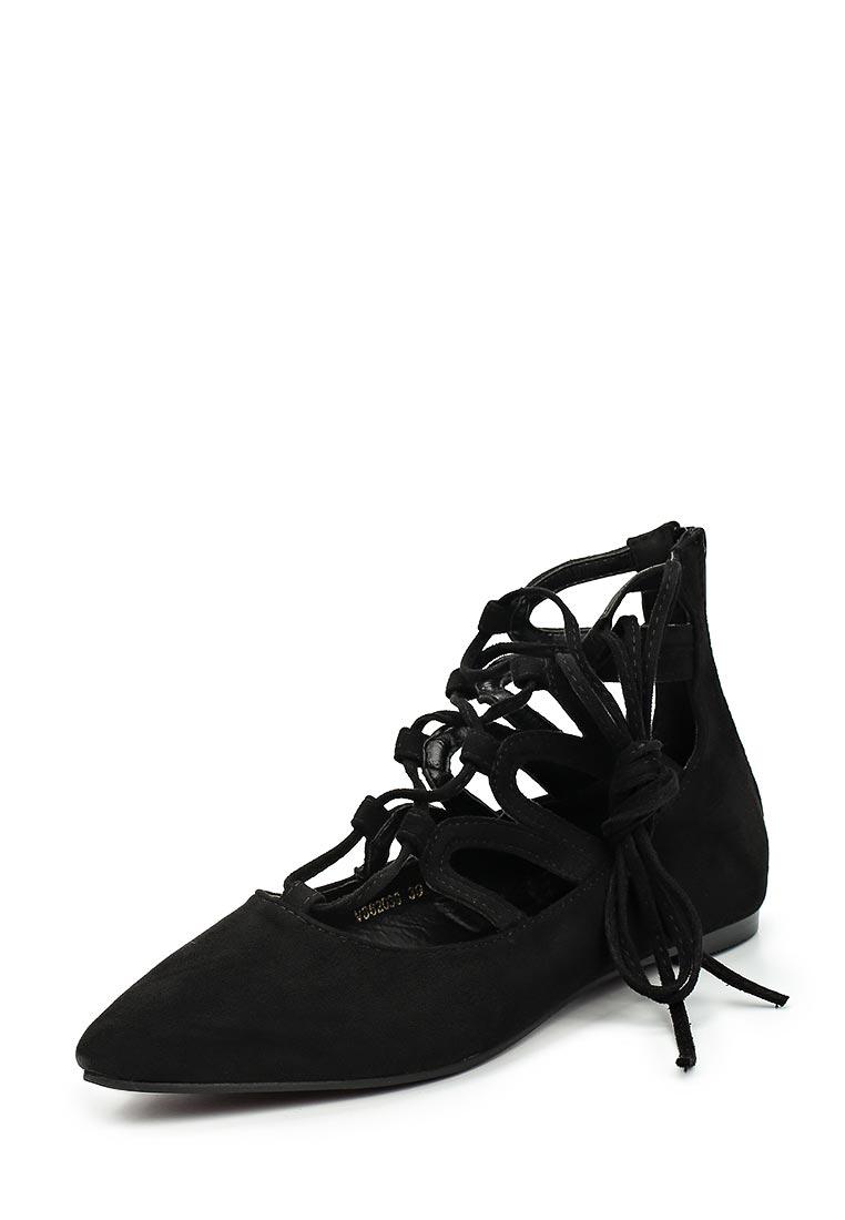 Туфли на плоской подошве Vera Blum F46-62039