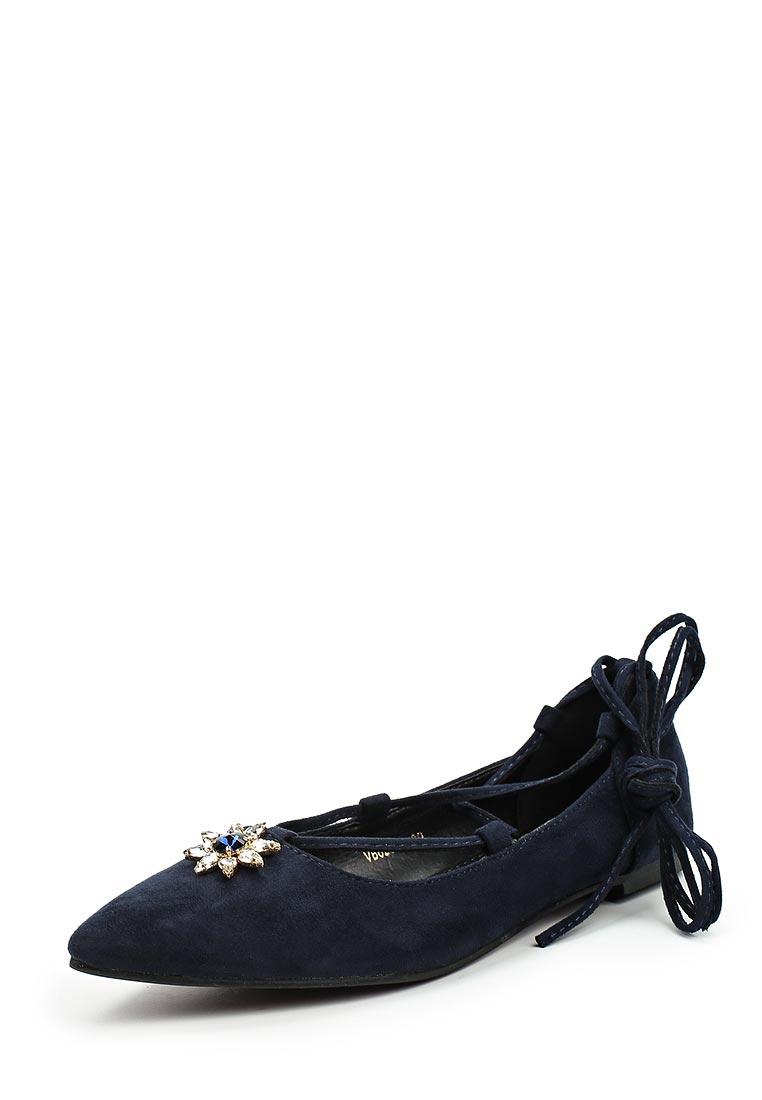 Туфли на плоской подошве Vera Blum F46-62062