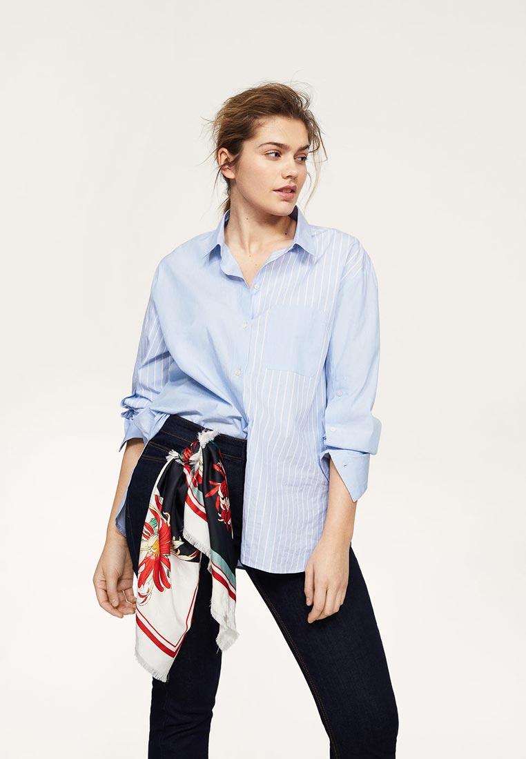 Женские рубашки с длинным рукавом Violeta by Mango (Виолетта бай Манго) 21040751