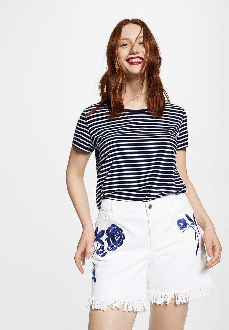 Женские джинсовые шорты Violeta by Mango (Виолетта бай Манго) 23027635