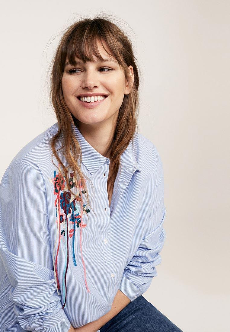 Женские рубашки с длинным рукавом Violeta by Mango (Виолетта бай Манго) 23095683