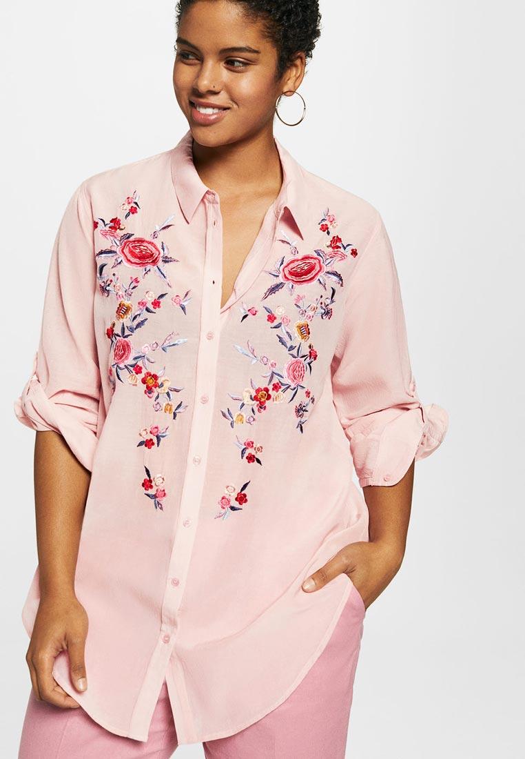 Женские рубашки с длинным рукавом Violeta by Mango (Виолетта бай Манго) 23067638