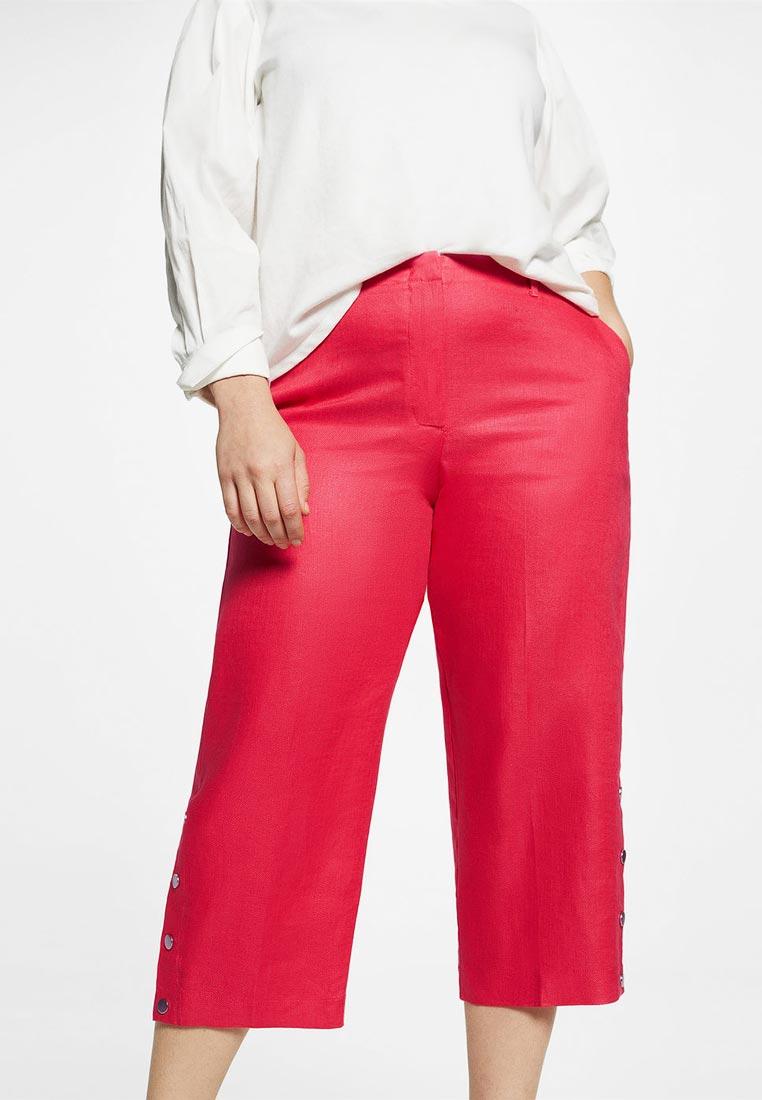 Женские широкие и расклешенные брюки Violeta by Mango (Виолетта бай Манго) 23067652
