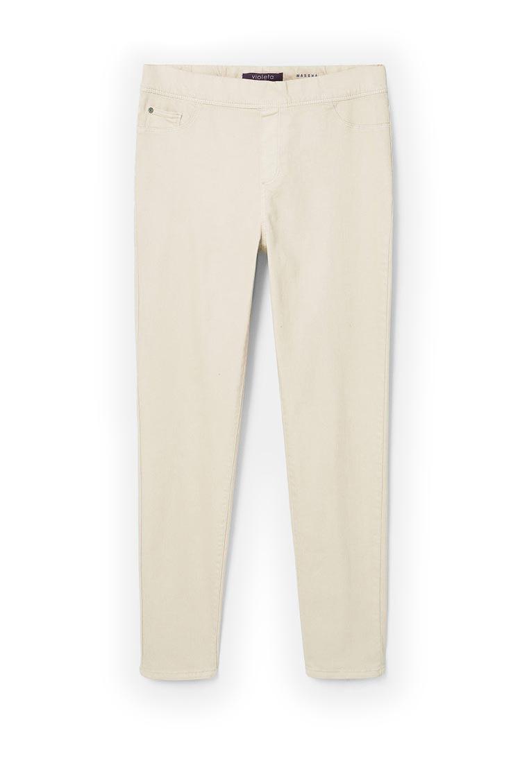 Зауженные джинсы Violeta by Mango (Виолетта бай Манго) 83003535