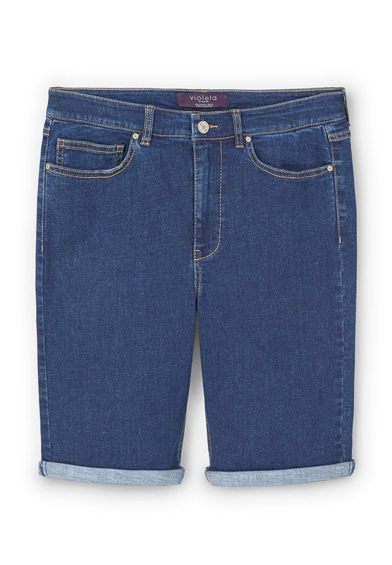Женские джинсовые шорты Violeta by Mango (Виолетта бай Манго) 83047542
