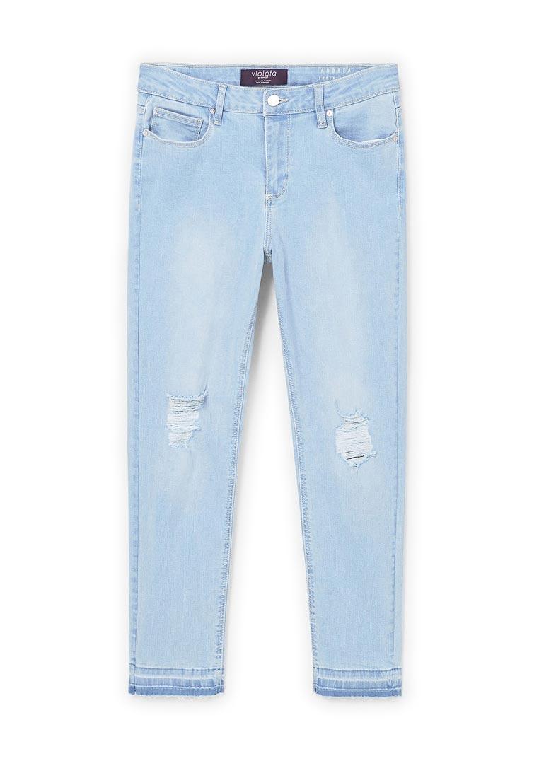 Зауженные джинсы Violeta by Mango (Виолетта бай Манго) 83017506