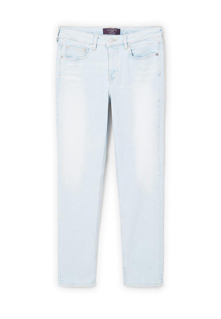 Зауженные джинсы Violeta by Mango (Виолетта бай Манго) 83017508