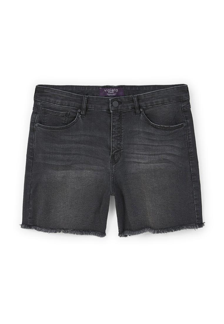 Женские джинсовые шорты Violeta by Mango (Виолетта бай Манго) 83077531