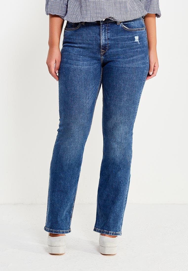 Широкие и расклешенные джинсы Violeta by Mango (Виолетта бай Манго) 13033637