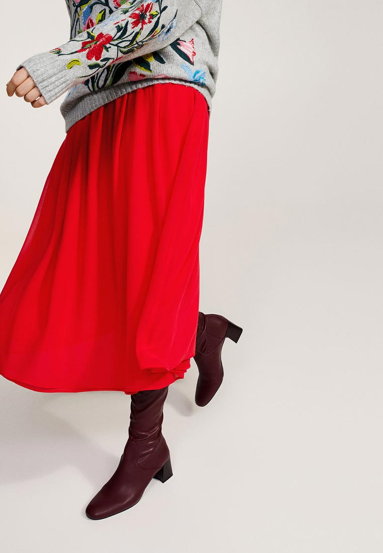 Широкая юбка Violeta by Mango (Виолетта бай Манго) 11087675