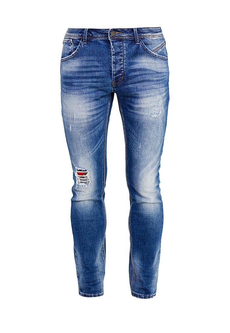 Мужские прямые джинсы Warren Webber WW2068BPT