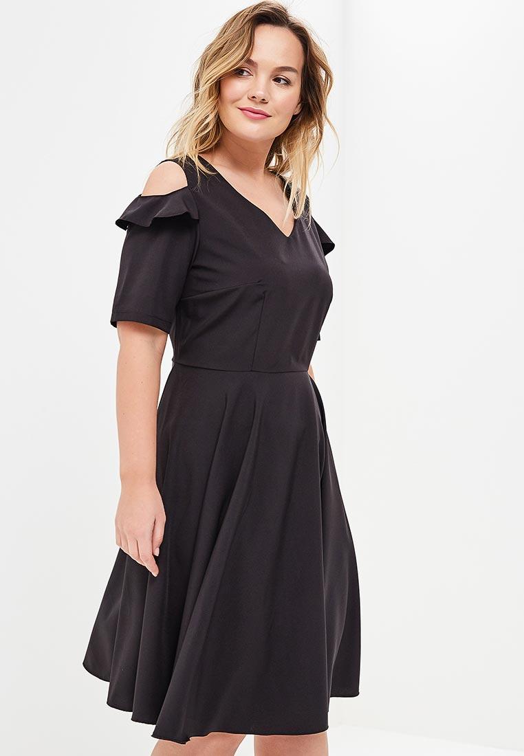 Повседневное платье Wersimi W10_BLACK
