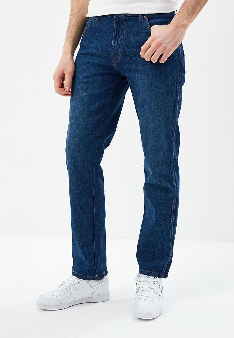 Мужские прямые джинсы Wrangler (Вранглер) W121PQ98L