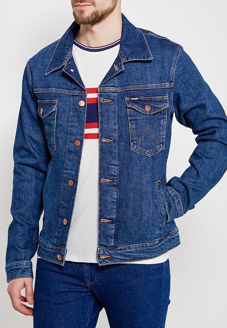 Джинсовая куртка Wrangler (Вранглер) W44323090